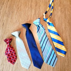 Boy Ties Formal Attire Accessories BUNDLE